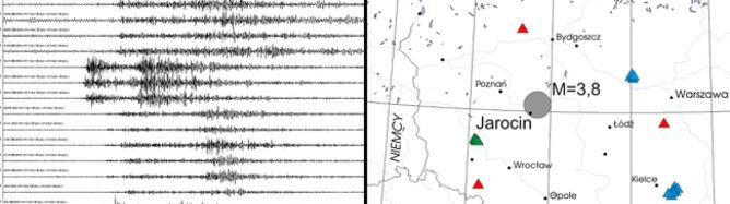 Zbadają pierwsze naturalne trzęsienie ziemi w Wielkopolsce