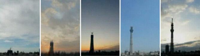 Tak powstawała najwyższa na świecie wieża telewizyjna