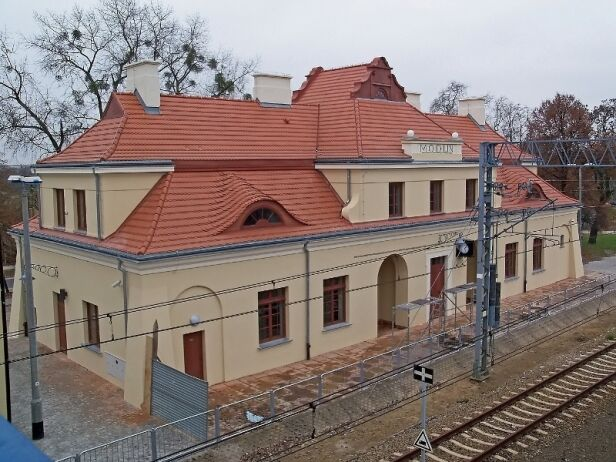 Stacja PKP Modlin NDM/ Wikipedia CC0