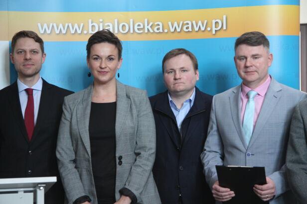 Ilona Soja-Kozłowska nowym burmistrzem Białołęki mat.prasowe