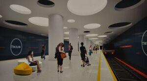 Nazywają stacje metra, choć jeszcze ich nie budują