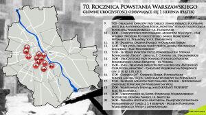 70. rocznica Powstania Warszawskiego. Oddaj hołd bohaterom