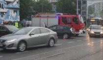 Motocyklista zderzył się <br />z autem na Woli