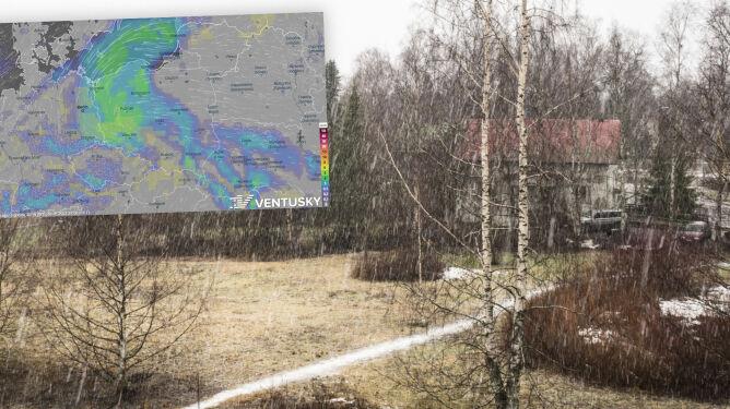 Pogoda na 5 dni: deszcz, deszcz ze śniegiem i śnieg, zbliża się ochłodzenie