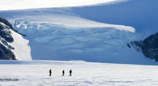 Ice Marathon na Antarktydzie