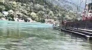 Rzeka Ganges w czasie kwarantanny