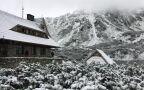 Śnieg spadł w Tatrach