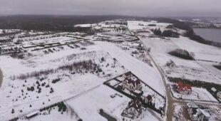 Śnieg w Kartuzach