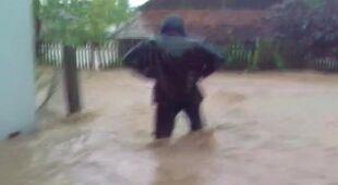 """""""Powódź na żywiecczyźnie"""" (Kontakt 24/Sbartu)"""